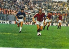 Milan Sampdoria 1970 dopo l'Alluvione.jpg