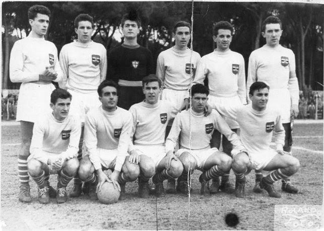Samp ragazzi vincitrice a Viareggio nel 1950.jpg